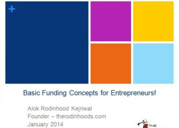Basic Funding Concepts for Entrepreneurs!